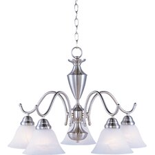 Newport 5-Light Shaded Chandelier