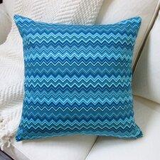 Zig Zag Cotton Throw Pillow