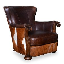 Blondell Hide Club Chair by Darby Home Co