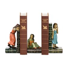Child Game Book End (Set of 3)