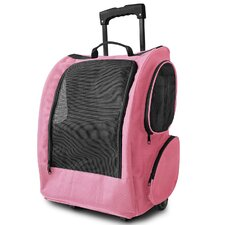 Rolling Backpack Pet Carrier