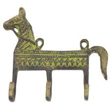 Helpful Horse Brass Coat Rack