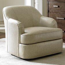 Laurel Canyon Alta Vista Leather Swivel Armchair by Lexington