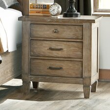 Armoise 3 Drawer Night Stand by Lark Manor