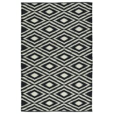 Greenfield Black & White Indoor/Outdoor Area Rug