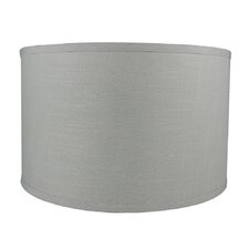 """Classic Smooth 16"""" Linen Drum Lamp Shade"""
