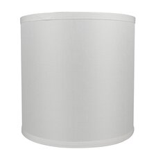 """Classic Smooth 10"""" Linen Drum Lamp Shade"""