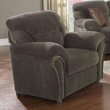 Velvet Armchair by A&J Homes Studio