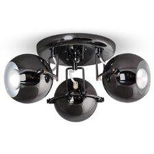 Retro Eyeball 3-Light Ceiling Spotlight