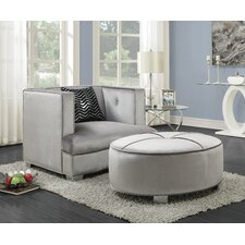 Yardley Ottoman by House of Hampton