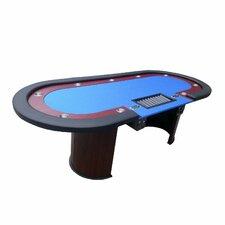 "96"" Texas Hold'em Poker Table Set"