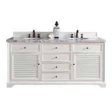 "Savannah 72"" Double Bathroom Vanity Base"