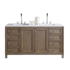 Chicago 60 Double Bathroom Vanity Base by James Martin Furniture