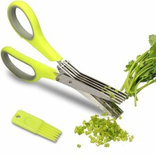 """4"""" Professional Herb Stainless Steel Multipurpose Kitchen Shear"""