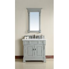Brookfield 36 Single Urban Gray Bathroom Vanity Set by James Martin Furniture