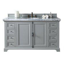 Providence 60 Single Urban Gray Bathroom Vanity Set by James Martin Furniture