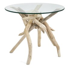 Wester Driftwood End Table by Beachcrest Home