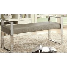 Kayla Faux Leather Bedroom Bench by Wade Logan
