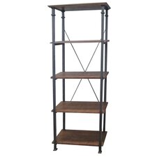 Preston 74.5 Etagere Bookcase by Kingstown Home