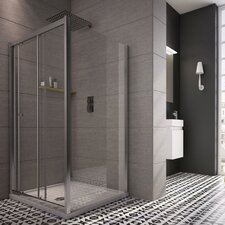 Worcester Square Sliding Door Shower Panel