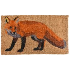 Best for Boots Fox Coir Doormat
