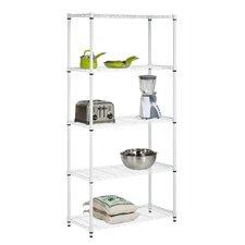 "Storage 72"" H 5 Shelf Shelving Unit"