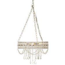 Zaid Hanging Filigree 3-Light Mini Chandelier