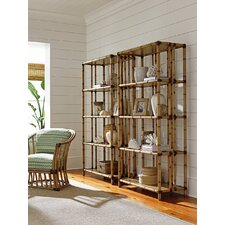 Twin Palms Seven Seas 78 Etagere Bookcase by Tommy Bahama Home