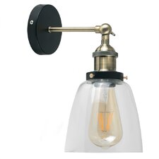 Industrial 1 Light Armed Sconce