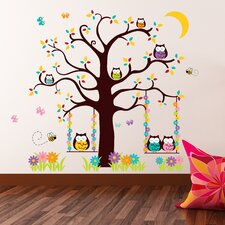 Owl Tree 2 Wall Sticker