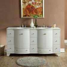 Merrimack 72 Double Bathroom Vanity Set by Silkroad Exclusive