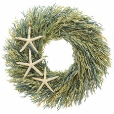 "Wild Sea Oats 18"" Wreath"