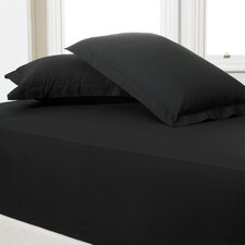 180 Thread Count Cotton Blend Fitted Sheet