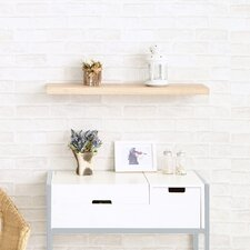 Grenada 30 Soft Grain Floating Shelf by Way Basics