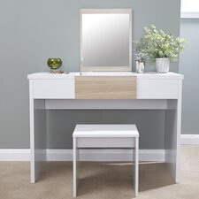 Timon Dressing Table Set with Mirror
