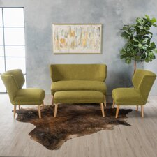Zariah 4 Piece Living Room Sofa Set by Langley Street™