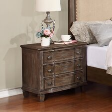 Baston 3 Drawer Nightstand by Darby Home Co