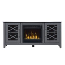 "Colton 54"" TV Stand with Electric Fireplace"
