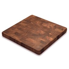 Gourmet Wood Square End Grain Chef's Board