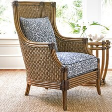 Twin Palms Coral Reef Wing back Chair by Tommy Bahama Home