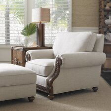 Shoreline Armchair and Ottoman by Tommy Bahama Home