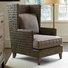 Cypress Point Wingback Chair by Tommy Bahama Home