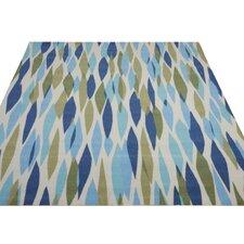 Gloria Blue/Green Indoor/Outdoor Area Rug