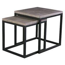 Agathla 2 Piece Nesting Table Set