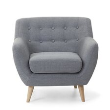 Poppy Tufted Living Room Armchair