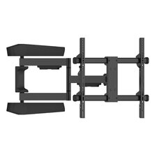 """One Large Articulating/Tilt Universal Wall Mount for 42"""" - 65"""" Flat or Curved Panel Screens"""