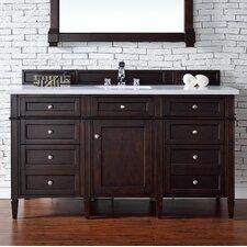 Brittany 60 Single Burnished Mahogany Bathroom Vanity Set by James Martin Furniture
