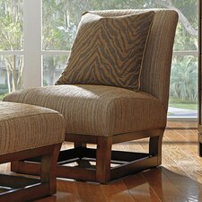 Island Fusion Arm Chair and Ottoman by Tommy Bahama Home
