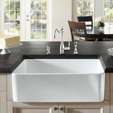"""Butler 29.5"""" X 18.5"""" Fireclay Kitchen Sink"""