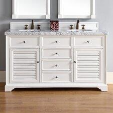Savannah 60 Double Bathroom Vanity Base by James Martin Furniture
